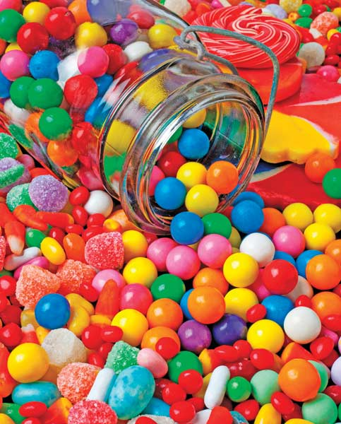 Gumballs & Gumdrops Food and Drink Jigsaw Puzzle
