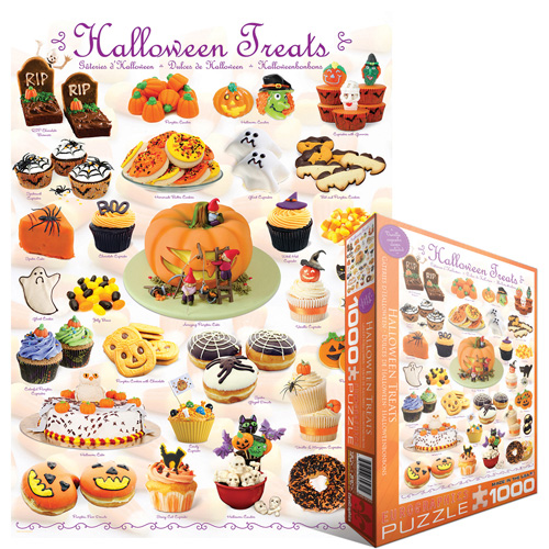 Halloween Treats Food and Drink Jigsaw Puzzle