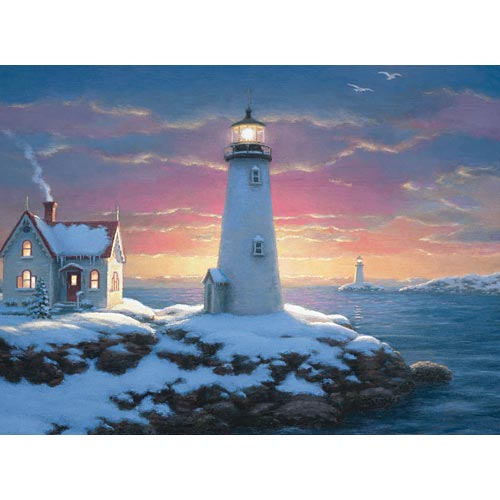 Harbor Lights Glow In The Dark Puzzle Puzzlewarehouse Com