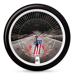 Harley-Davidson 1 Sound Clock Motorcycles Novelty