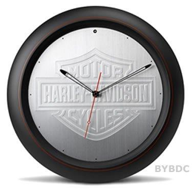 Harley-Davidson Aluminum Sound Clock Motorcycles Novelty