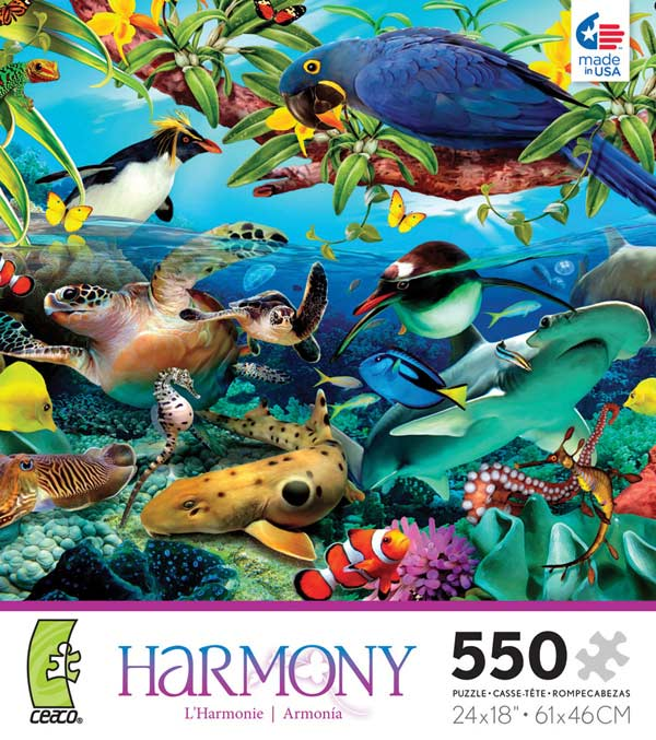Harmony - Saltwater Under The Sea Jigsaw Puzzle