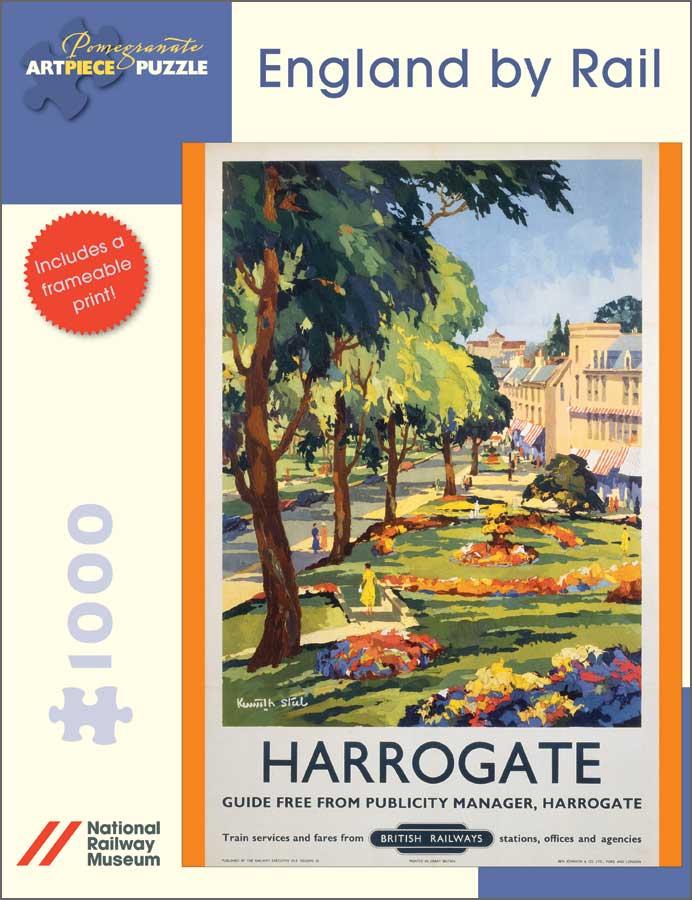 England by Rail: Harrogate Landscape Jigsaw Puzzle