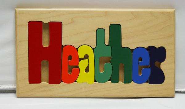 Heather Wooden Name Puzzle