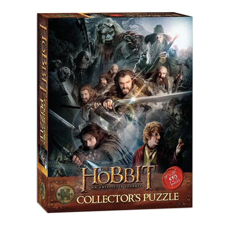The Hobbit Collector's Puzzle Movies / Books / TV Jigsaw Puzzle