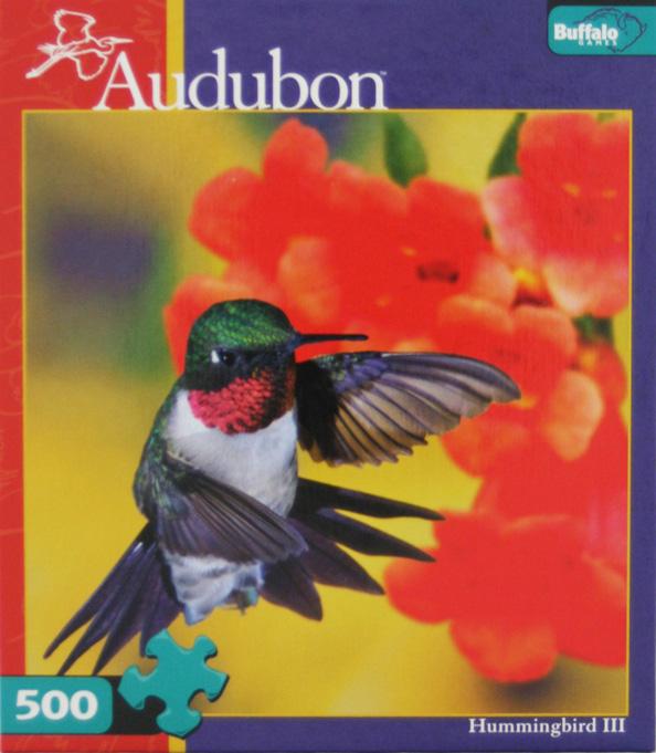 Hummingbird III Birds Jigsaw Puzzle