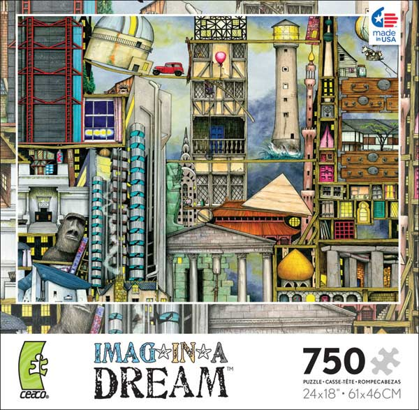 Imag-in-a-Dream - Our First World Tour Graphics Jigsaw Puzzle