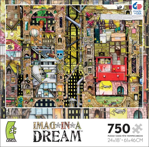 Imag-in-a-Dream - Pepper Dreams Graphics Jigsaw Puzzle