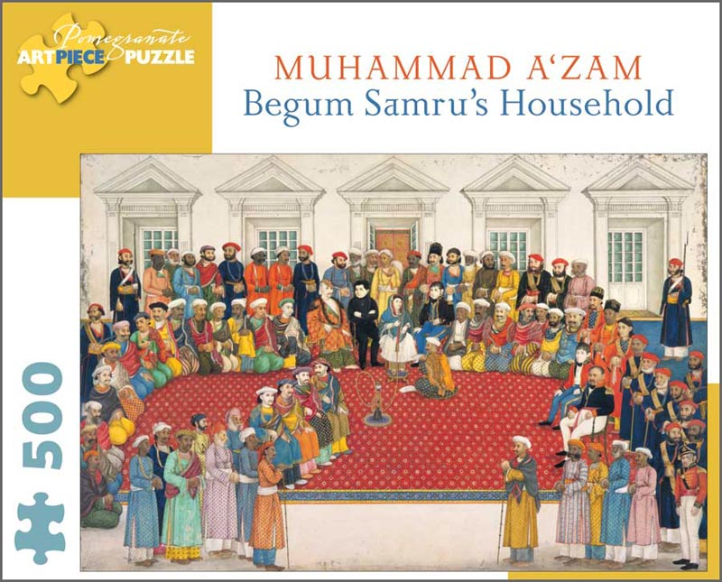 Begum Samru's Household Fine Art Jigsaw Puzzle