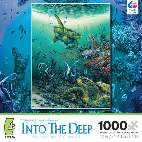 Into the Deep - Hide n Seek Marine Life Jigsaw Puzzle