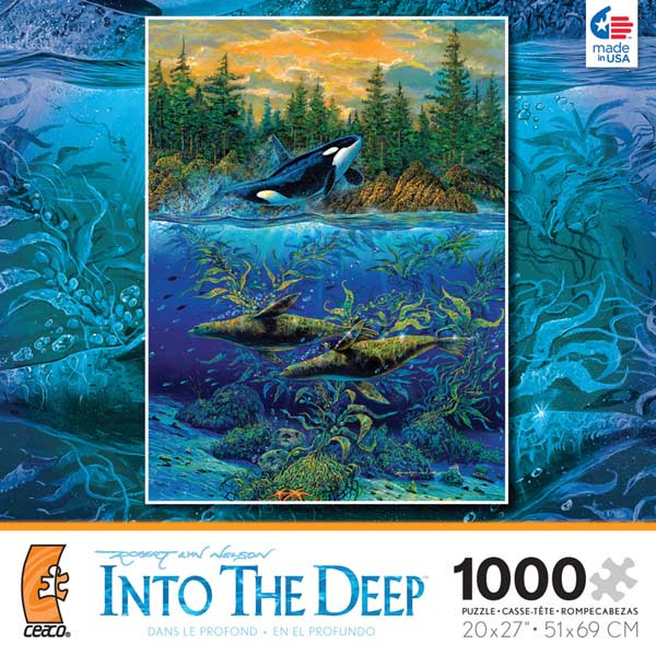 Into the Deep - Northern Summer Marine Life Jigsaw Puzzle