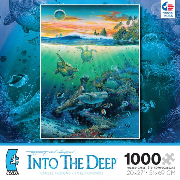 Into the Deep - Society Marine Life Jigsaw Puzzle