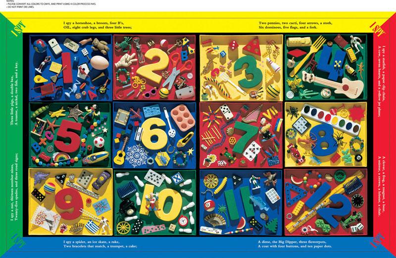 Floor Puzzle I Spy 1 2 3 Hidden Images Puzzlewarehouse Com