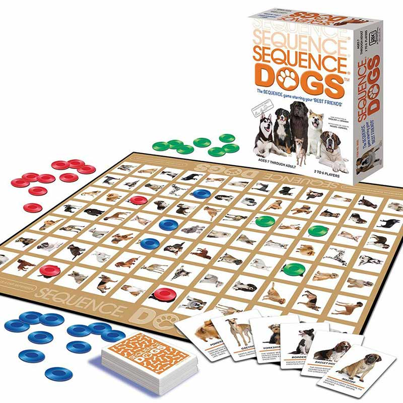 Sequence Dog Game Puzzlewarehouse