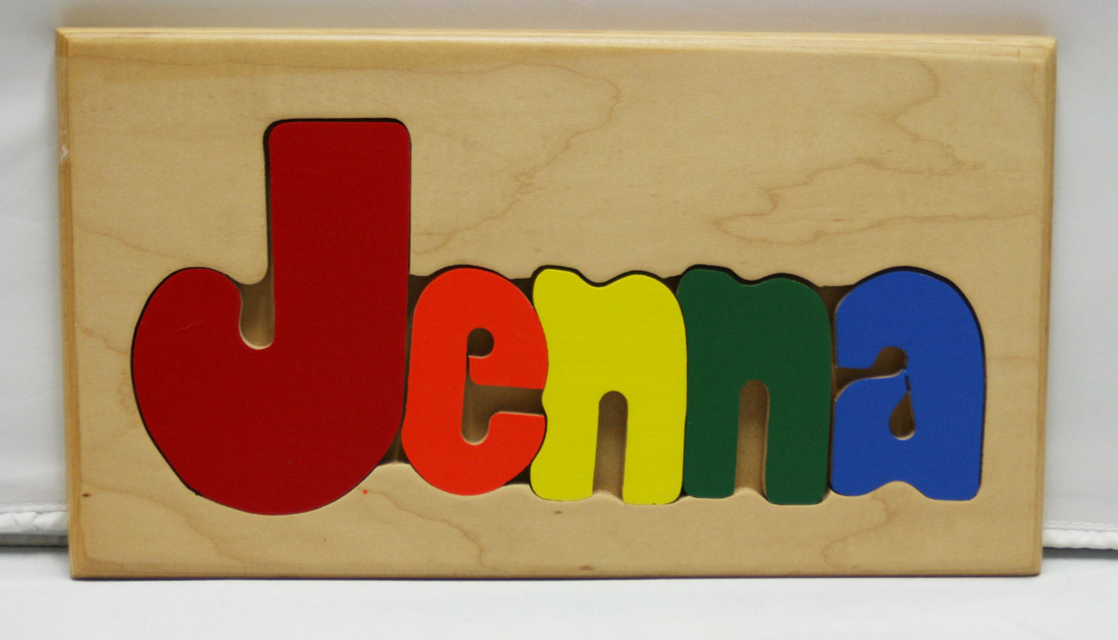 Jenna Wooden Name Puzzle