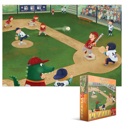Junior League Baseball Baseball Children's Puzzles