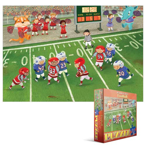 Junior League Football Cartoons Children's Puzzles