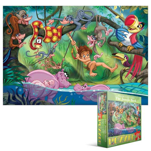 The Jungle Book Kids Classic Fairy Tales Animals Jigsaw Puzzle