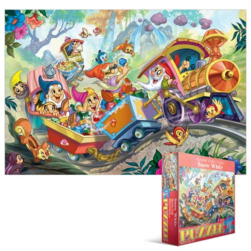 Kids Classic Fairy Tales - Snow White Cartoons Children's Puzzles
