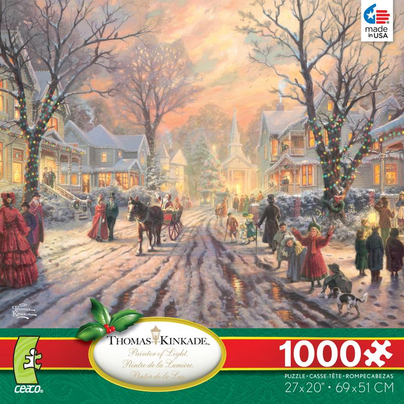 1000 Images About A Christmas Carol On Pinterest: Victorian Christmas Carol Jigsaw Puzzle