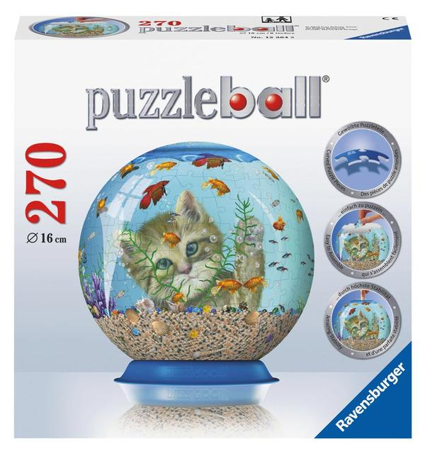 Puzzleball - Kitty Entertainment (270pc) Cats Children's Puzzles