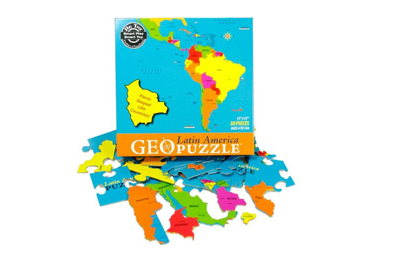 Latin America Maps / Geography Jigsaw Puzzle