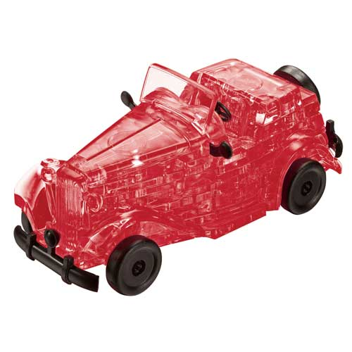 Classic Car, Red Cars Jigsaw Puzzle