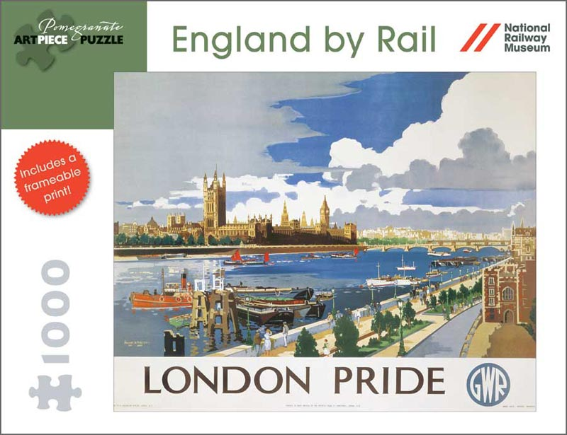 England by Rail: London Pride London Jigsaw Puzzle