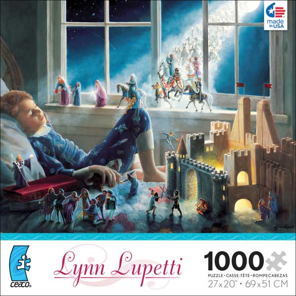 Lynn Lupetti - Lords of the Moon Fantasy Jigsaw Puzzle