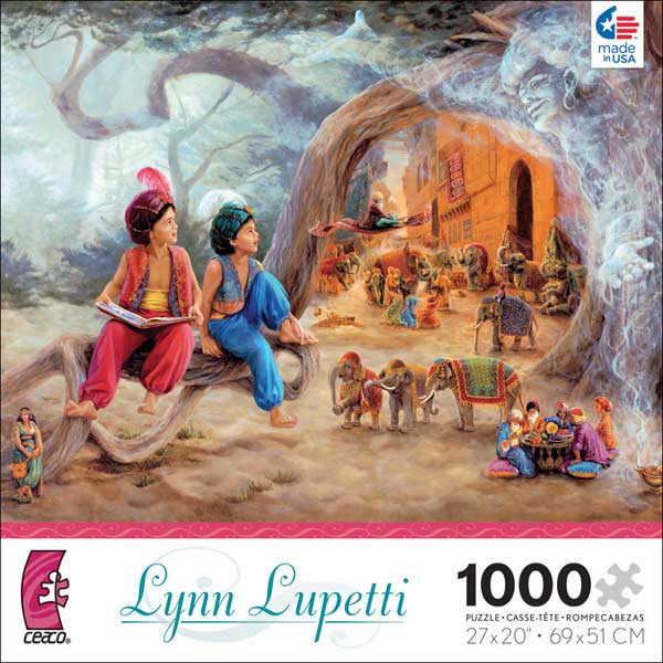 Lynn Lupetti - The Wish Fantasy Jigsaw Puzzle