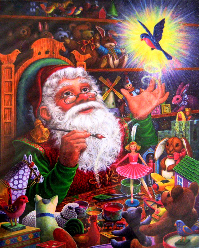 Magic Touch Christmas Jigsaw Puzzle