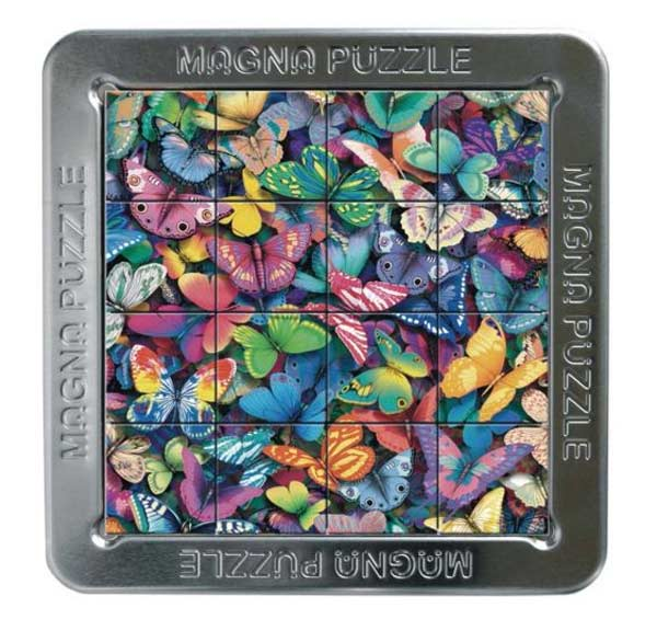 3D Magna Puzzle - Butterflies Butterflies and Insects Jigsaw Puzzle