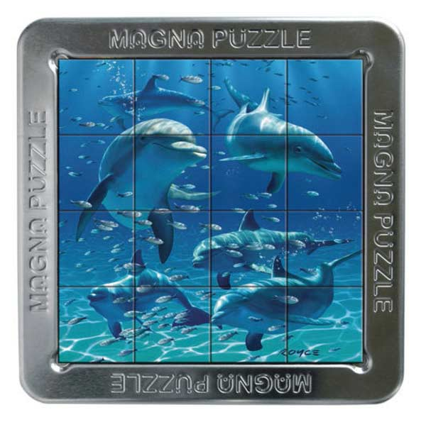3D Magna Puzzle - Dolphins Dolphins Jigsaw Puzzle