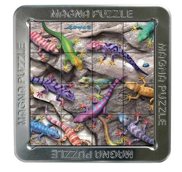 3D Magna Puzzle - Geckos Reptiles and Amphibians Jigsaw Puzzle