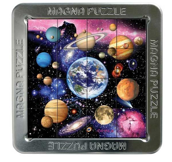 3D Magna Puzzle - Planets Space Jigsaw Puzzle