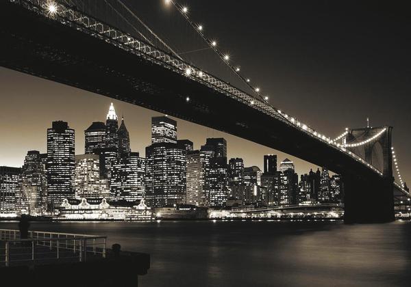 Manhattan & Brooklyn Bridge New York Jigsaw Puzzle