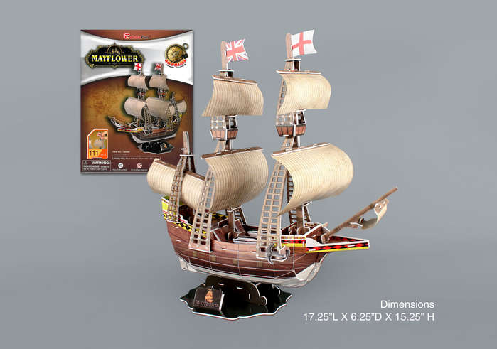 Mayflower Thanksgiving Jigsaw Puzzle