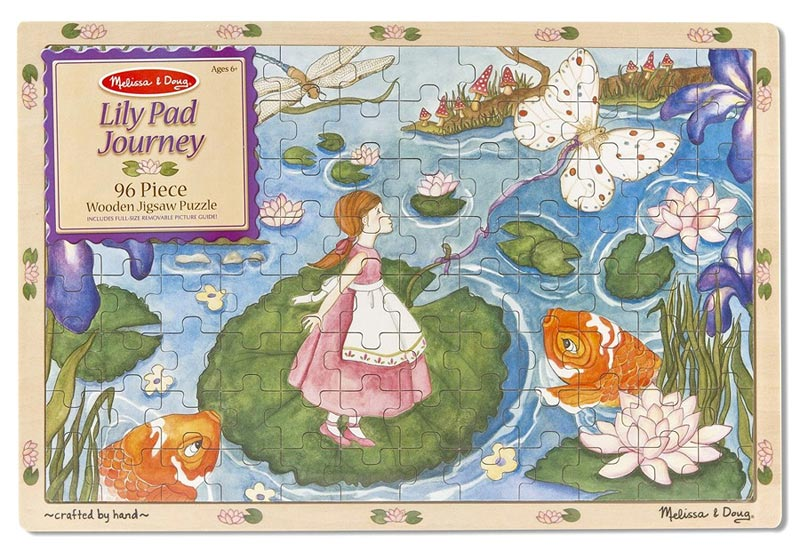 Lily Pad Journey - 96pc Butterflies and Insects Children's Puzzles