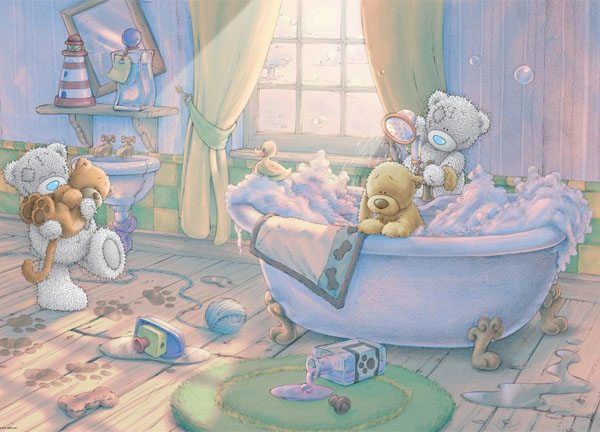 Me to You - Bath Time Bears Jigsaw Puzzle