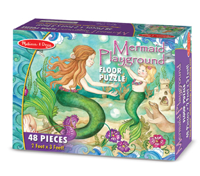 Mermaid Playground - Floor Fantasy Children's Puzzles