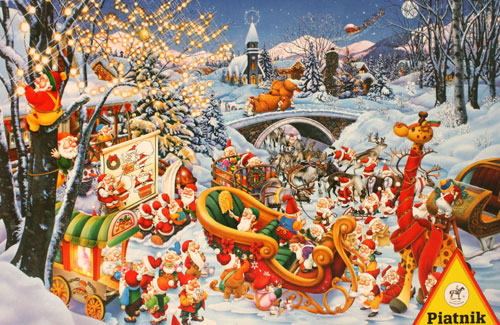 Merry Christmas Christmas Jigsaw Puzzle