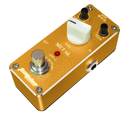 Tomsline Mini Metal True Bypass Guitar Effect Pedal