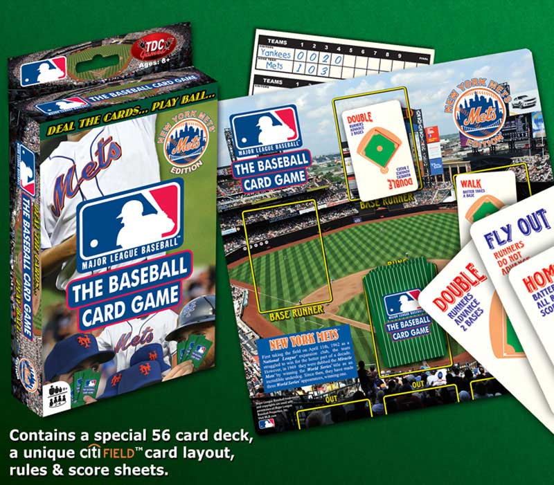 Baseball Card Game Mets