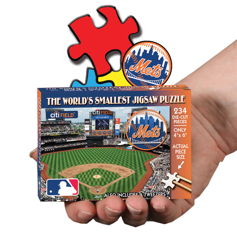 World's Smallest Puzzles MLB - New York Mets New York Jigsaw Puzzle