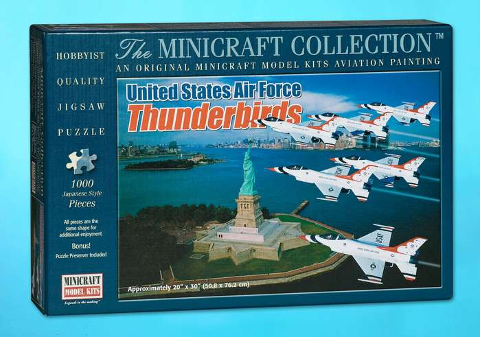 United States Air Force Thunderbirds History Jigsaw Puzzle