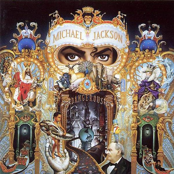 Michael Jackson's - Dangerous Album Famous People Jigsaw Puzzle