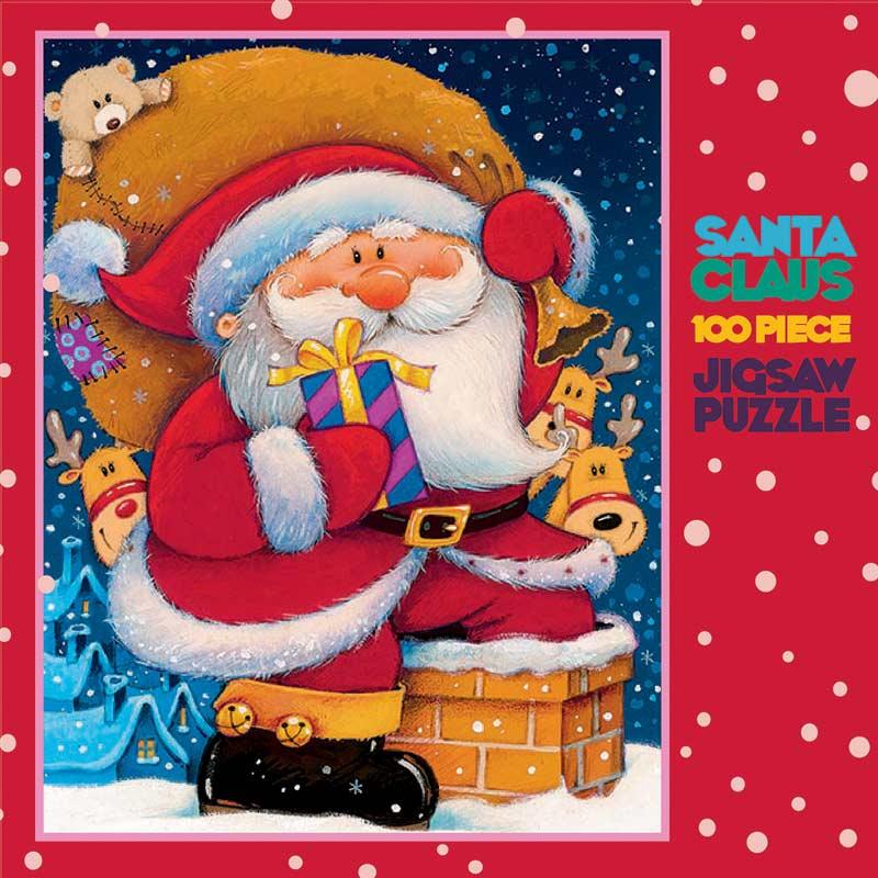 Mini Christmas Puzzles - Santa Claus Christmas Jigsaw Puzzle