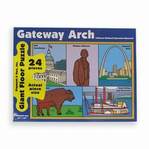 Saint Louis Gateway Arch - Floor Puzzle Landmarks Floor Puzzle