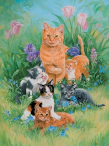 Mother's Day Cats Jigsaw Puzzle