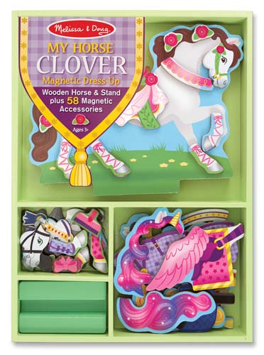My Horse Clover Magnetic Dress-Up Pretend Play Toy